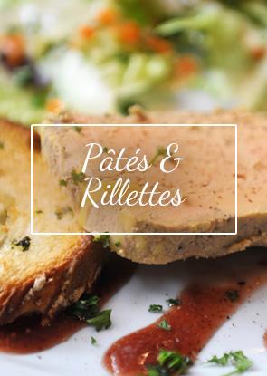 Des recettes les plus traditionnelles de la culture gastronomique du Sud-Ouest aux associations plus originales, découvrez notre gamme de Pâtés et Terrines à base de viande de porc, de canard, d'oie, de volaille ou encore de gibier.